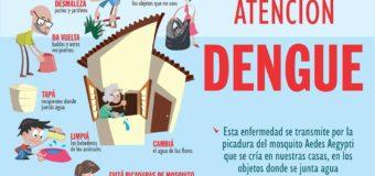 AVISO A LA CIUDADANÍA – CAMPAÑA CONTRA EL DENGUE!