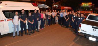 Nuevo móvil de rescate urbano al Cuerpo de Bomberos Voluntarios de Fram.