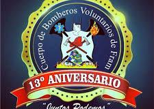 ¡Muchas felicidades a nuestro querido Cuerpo de Bomberos Voluntarios de Fram!