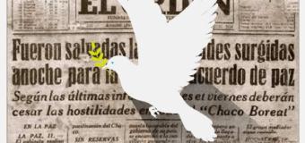 EL DIA DE LA PAZ DEL CHACO SE CELEBRA EL 12 DE JUNIO.