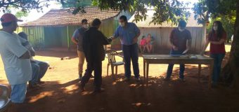 Entrega de kits de Verduras dentro del Proyecto de Huerta Familiar