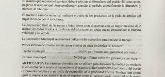ORDENANZA MUNICIPAL N° 102/2020.