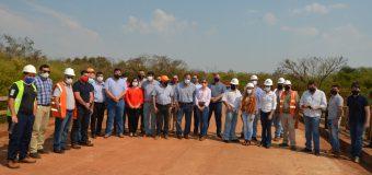 Inicio oficial de obras llevadas adelante por el MOPC.