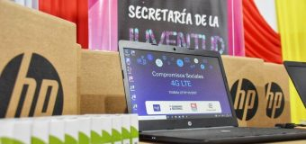 MUNICIPALIDAD DE FRAM RECIBIÓ 10 COMPUTADORAS CON INTERNET, OBTENIDAS MEDIANTE GESTIÓN DEL GOBERNADOR DE ITAPÚA