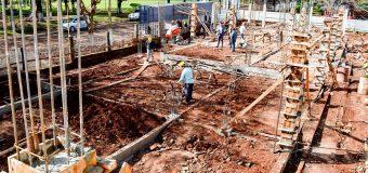 AVANZA CONSTRUCCIÓN DEL MODERNO PABELLÓN DE DOS PLANTAS DEL COLEGIO MONSEÑOR WIESSEN