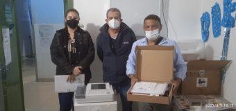 HOSPITAL DISTRITAL DE FRAM RECIBE EQUIPO ELECTROCARDIOGRAFO